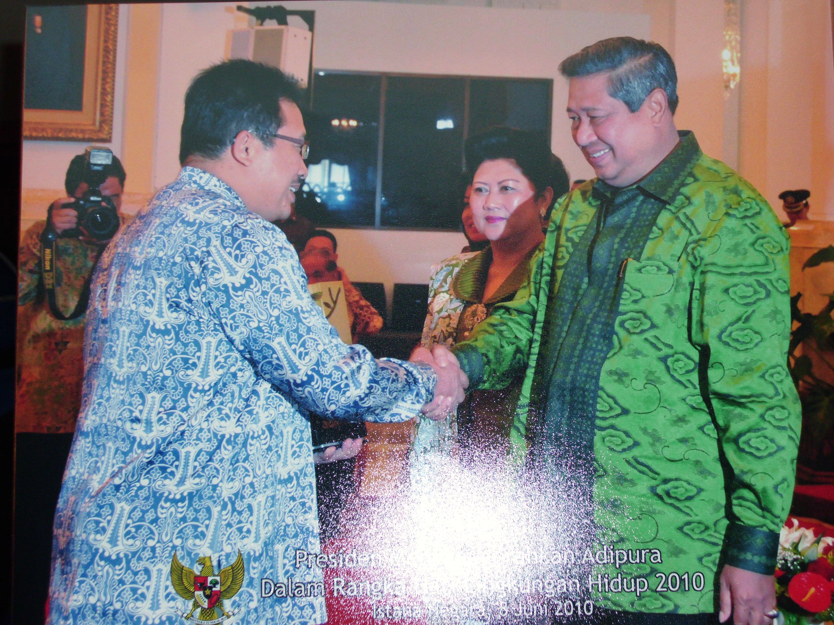 Penerimaan Penghargaan Adipura oleh<BR>Presiden Susilo Bambang Yudhoyono