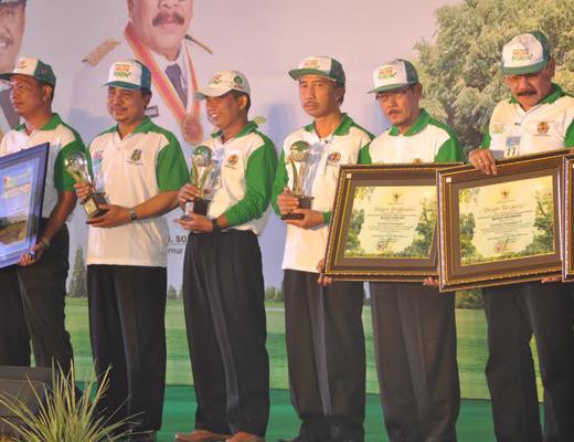 Pemenang Lomba Menuju Indonesia Hijau (MIH)<BR>Menuju Provinsi Hijau Tahun 2014